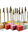Culoarea Lemnului Tabelul Center Pieces-Nepersonalizat Suporturi carduri loc 16 Piece / Set