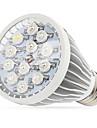 12W E27 / E14 / GU10 ledde växa lampor 12 High Power LED (8red 2blue 1white 1uv) 290-330lm ac 85-265 v 1 st
