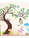 Animaux Mode Loisir Stickers muraux Autocollants avion Autocollants muraux decoratifs,Papier Materiel Decoration d\'interieur Calque Mural