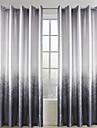 Deux Panneaux Le traitement de fenetre Rustique Salle de sejour Polyester Materiel Rideaux Tentures Decoration d\'interieur For Fenetre