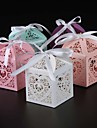 25 Piece/lots Love Heart Candy Box wedding box Wedding Party Favor box gift box baby shower wedding decoration party supplies