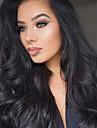 2017 nya stil 10-20inch 360 spets peruk 130% densitet mänsklig jungfru hår vågigt spets peruk med baby hår