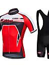 Maillot et Cuissard a Bretelles de Cyclisme Homme Manches courtes VeloRespirable Sechage rapide Permeabilite a l\'humidite Lisse