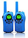 walkie talkie pentru copii 22 canale și durabile (până la 5 km în zone deschise) walkie talkie colorate pentru copii (1 pereche) t668
