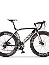 Comfort Cyklar Väg Cykel Cykelsport 14 Hastighet 26 tum/700CC SHIMANO ST A070 Skivbroms Icke-dämpning Aluminiumram Icke-dämpningVanlig