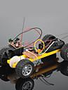 model de crab regat asamblat jucărie mașină de asamblare DIY jucărie mașină cu două control de la distanță pachet de materiale auto (roți