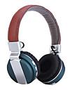 headset trådlösa vikbara fällbara stereohörlurar med brusreducering mikrofon& uppladdningsbart Li-ion batteri