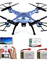 Drone SYMA 4 Canaux 6 Axes 2.4G Avec Camera Quadri rotor RCFPV Retour Automatique Securite Integree Mode Sans Tete Vol Rotatif De 360