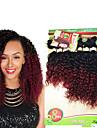 A Ombre Cheveux Bresiliens Ondulation profonde 6 Mois 1 Piece tissages de cheveux