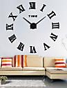 Moderne/Contemporain Bureau / Affaires Famille Ecole/Diplome Amis Horloge murale,Nouveaute Metal 63*63 Interieur Horloge