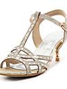 Femme Sandales Salome Bride de Cheville club de Chaussures Paillette Matieres Personnalisees Printemps Ete AutomneMariage Habille Soiree