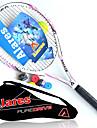 Raquettes de tennis Balles de tennis(Jaune Blanc Rouge,Fibre de carbone)Etanche Durable