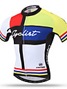 XINTOWN Maillot de Cyclisme Homme Manches Courtes Velo Maillot Hauts/TopsSechage rapide Respirable Poche arriere Anti-transpiration
