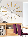 Retro Horloge murale,Rond Acrylique Autres 31*39 Interieur Horloge