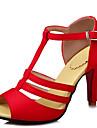 Bureau & Travail Habille Decontracte-Noir Jaune Rouge Blanc-Talon Aiguille-Confort-Sandales-Similicuir