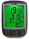 Cykel Mountainbike Cykeldator Av - Genomsnittlig hastighet Avståndsmätare SPD - Aktuell hastighet Vägmetare bakgrundsbelysning Tme - Tid