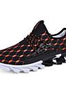 Femme-Exterieure Decontracte-Noir Orange Noir blancSemelles Legeres-Chaussures d\'Athletisme-Polyurethane