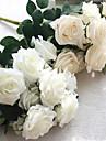 1 Gren Silke Roser Konstgjorda blommor 45