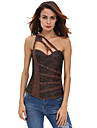 Dame Corset peste Bust Pijamale,Mediu Polyester Spandex-Sexy Solid
