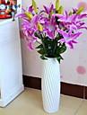 1 Gren Fiber Liljor Bordsblomma Konstgjorda blommor 40*40*87