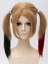 court harleen quinzel harley quinn couleur 18 pouces synthetique melanges wgs cosplay anime cs-269b