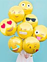 8 buc / set emoticonuri balon de 18 inch balon folie cu bule fierbinte baloane decorare petrecere acasă