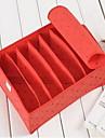 Boite de Rangement Systemes de Rangement Non-Tisse avecFonctionnalite est Avec couvercle , Pour Sous-vetement