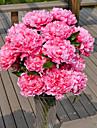 1 ramură Plastic Bujori Față de masă flori Flori artificiale 70*16