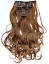 A Clipser Synthetique Extensions de cheveux Extension des cheveux