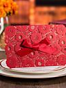 Șal & Buzunar Invitatii de nunta 50-Invitații Stil Oficial Stil Vintage Stil Flora Stil Floral Hârtie cărți de masă Fundă panglică