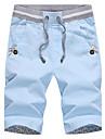 Bărbați Drept Șic & Modern Talie Medie Pantaloni Scurți Pantaloni Mată