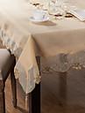 Dreptunghiular Brodat Fețe de masă , Amestec poli/bumbac MaterialHotelul masă Nunta decorare Party Cina conferință de nunta Crăciun Decor