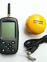 Detecteur de Poissons Autre LCD Lumiere blanche On/Off Sans-Fil Aucun Plastique dur Alose jaune