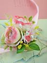 """Flori de Nuntă Legat Manual Trandafiri Corsaj de mână Nuntă Petrecere / Seară Petrecere/Cocktail Satin Tul 3.15""""(Approx.8cm)"""