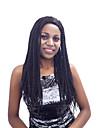 Buty cheveux cheveux synthetiques perruques bresiliennes cheveux en plastique perruques synthetiques noir vin rouge ombre petites