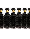 Tissages de cheveux humains Cheveux Bresiliens Boucle 18 Mois tissages de cheveux