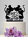 Vârfuri de Tort Personalizat Amuzant & Reticent Acrilic Nuntă Aniversare Petrecerea Bridal Shower Temă Clasică Temă Basme OPP