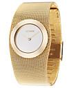 ASJ pentru Doamne Ceas Elegant Ceas La Modă Ceas de Mână Japoneză Quartz Aliaj Cupru Bandă Elegant Luxos Auriu Auriu