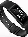 Smart armband iOS AndroidVattenavvisande Lång standby Brända Kalorier Stegräknare Hälsovård Sport Hjärtfrekvensmonitor Pekskärm