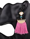 Pentru femei Cercei Picătură Supradimensionat Aliaj Bijuterii PentruNuntă Petrecere Ocazie specială Zi de Naștere Petrecere / Seară Birou