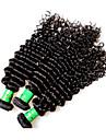 8a indien remy cheveux humains cheveux boucles 3pieces 300g beaucoup non transformes indigenes vierges cheveux tisses couleur noire