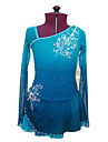 Robe de Patinage Patinage Jupes & Robes Robes Haute elasticite Robe de patinage artistique Spandex Tenue de Patinage