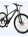 Velo tout terrain Cyclisme 27 Vitesse 29 pouces Frein a Double Disque Fourche de suspension Cadre en Alliage d\'Aluminium Cadre Rigide