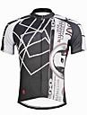 Maillot de Cyclisme Homme Masculin Manches Courtes Velo Maillot Hauts/TopsCyclisme Sechage rapide Resistant aux ultraviolets Compression
