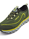 Bărbați Adidași Confortabili Țesătură Primăvară Vară Casual Plimbare Confortabili Găuri Toc Plat Gri Verde 2.5 - 4.5 cm