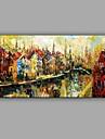 Pictat manual Peisaj Abstract Un Panou Canava Hang-pictate pictură în ulei For Pagina de decorare