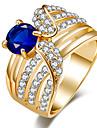 Pentru femei Inele Afirmatoare Inel CristalDesign Basic Design Unic Ștrasuri Turcă bijuterii de lux Bijuterii Statement Clasic La modă