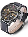 Bărbați Ceas Sport Ceas Elegant Ceas La Modă Ceas Casual Ceas de Mână Unic Creative ceas Chineză Quartz Calendar Rezistent la ApăPiele