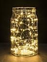 1pc 2m 20led batterie alimentee chaine LED impermeable a l\'eau pour la decoration de noel
