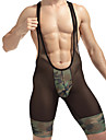 Men's Masculin Sexy Ridicare Voaluri & Perdele Transparente Chiloți Ultra Sexy Long Johns